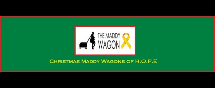 Christmas Maddy Wagons of H.O.P.E.